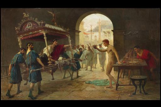 Giovanni MUZZIOLI - Gemälde - Roman scene