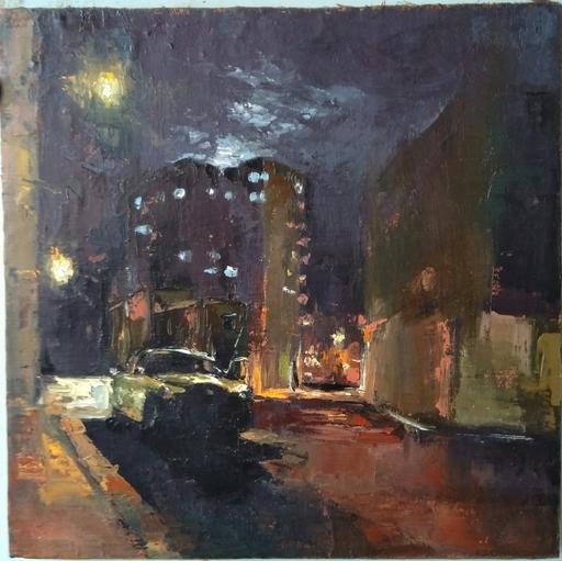 Ohanyan KAMSAR - Pittura - Night Street