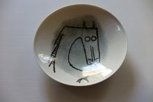"""Wifredo LAM - Cerámica - Porcelana di Albisola - 9"""" plate II"""