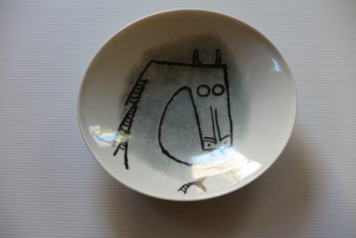 """维夫里多•拉姆 - 陶瓷  - Porcelana di Albisola - 9"""" plate II"""