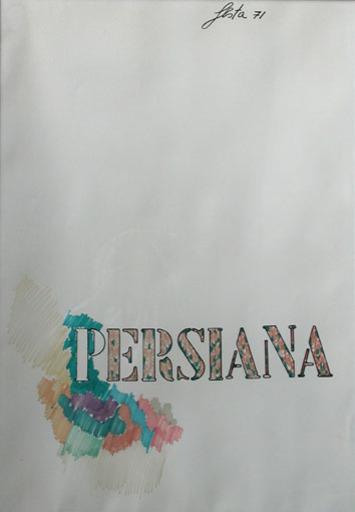 塔诺·费斯塔 - 绘画 - Persiana