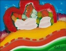 Yasse TABUCHI - Painting - Maroc 5
