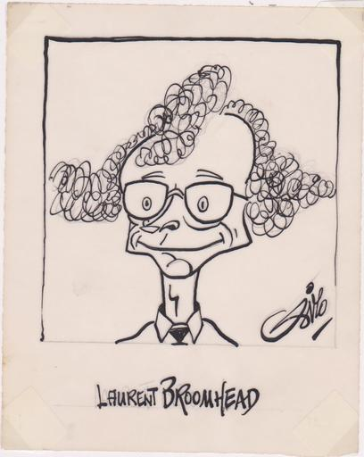 SIRO - Dibujo Acuarela - Laurent BROOMHEAD - Journaliste