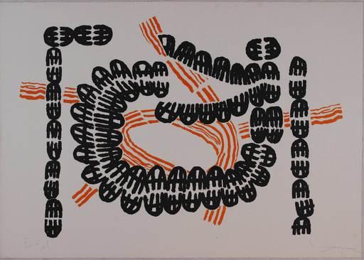 Giuseppe CAPOGROSSI - Druckgrafik-Multiple - Opale Nr. 2