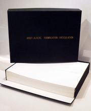 Josef ALBERS - Grabado - Formulation : Articulation