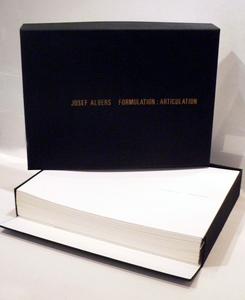 Josef ALBERS - Print-Multiple - Formulation : Articulation