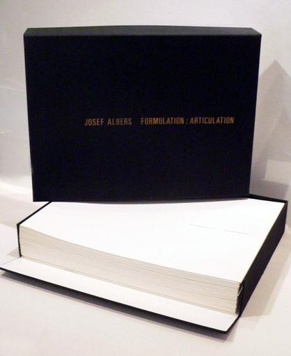 Josef ALBERS - Druckgrafik-Multiple - Formulation : Articulation