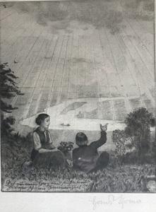 Hans THOMA - Print-Multiple - Sommerzeit II