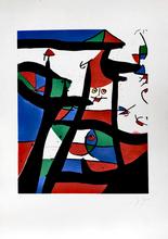 Joan MIRO (1893-1983) - Dans le Grenier a sel