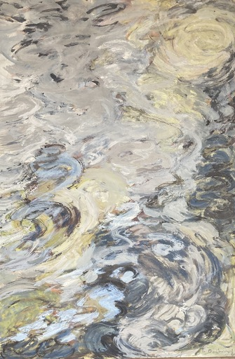 Geula DAGAN - Gemälde - Mouvements fluides
