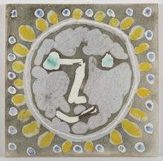 巴勃罗•毕加索 - 陶瓷  - Tête de Faune