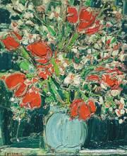 André COTTAVOZ (1922-2012) - Bouquet