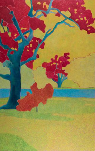 Marie-Pierre AUTONNE - Painting - Un été au soleil