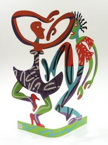 David GERSTEIN - Sculpture-Volume - In motion