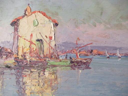 Vincent MANAGO - Peinture - Les Martigues