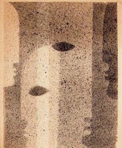Oskar SCHLEMMER - Drawing-Watercolor - Atelier du BAUHAUS I sur V