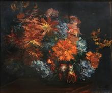 Jacques-Émile BLANCHE - Painting - Vase de Fleurs