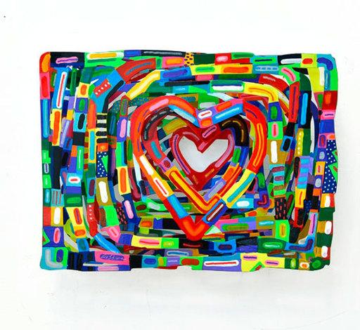 大衛•葛爾斯坦 - 雕塑 - Heartbeat