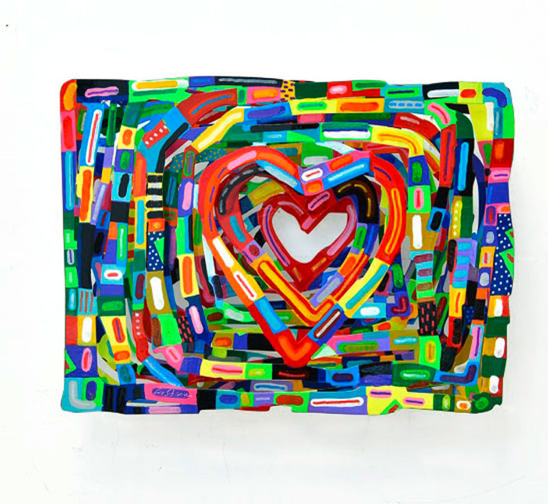 David GERSTEIN - Sculpture-Volume - Heartbeat