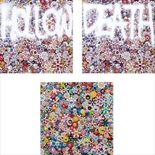 Takashi MURAKAMI - Print-Multiple - HOLLOW: Multicolor/ DEATH: Multicolor/ The Future will Be Fu