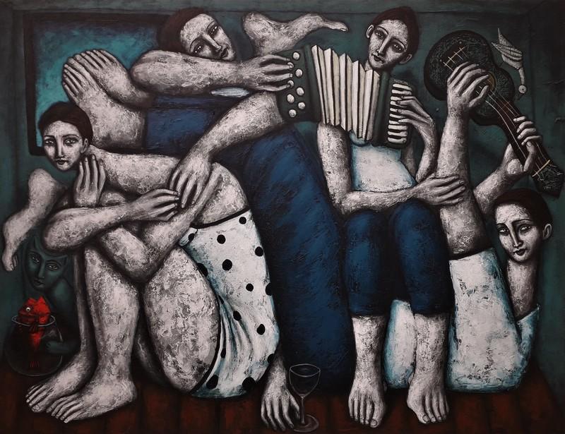 Nicolas MONJO - Pintura - Sans titre 7.0.6