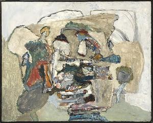 Jacques DOUCET - Painting - La Roche Eclatee