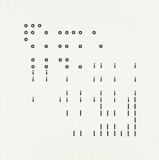 Hans-Jörg MAYER - Grabado - Typoems