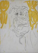Georg BASELITZ - Estampe-Multiple - Leo, from: Sleeping Dogs