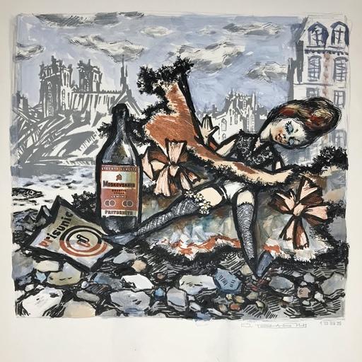 Oskar RABIN - 版画 - La Poupée Parisienne