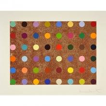 Damien HIRST (1965) - Proctolin (with Bronze Glitter)