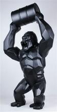 Richard ORLINSKI - Sculpture-Volume - Wild Kong with Barrel (mat black)