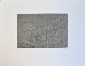 Henry MOORE - Print-Multiple - Group of Figures