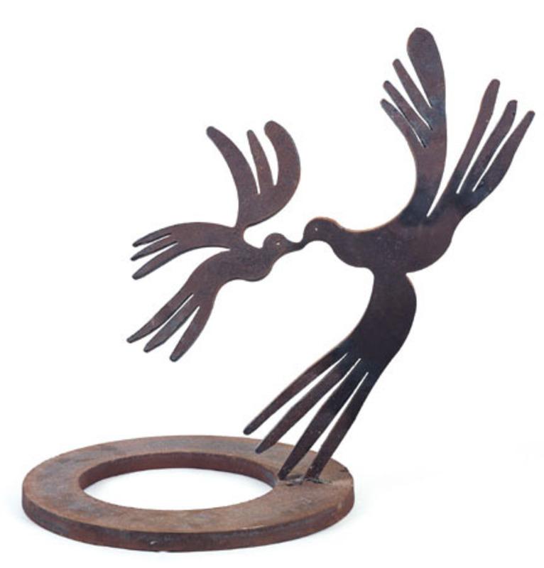 Menashe KADISHMAN - Sculpture-Volume - Birds