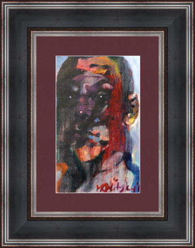 Maxim ORLITSKIY - Gemälde - Self-portrait