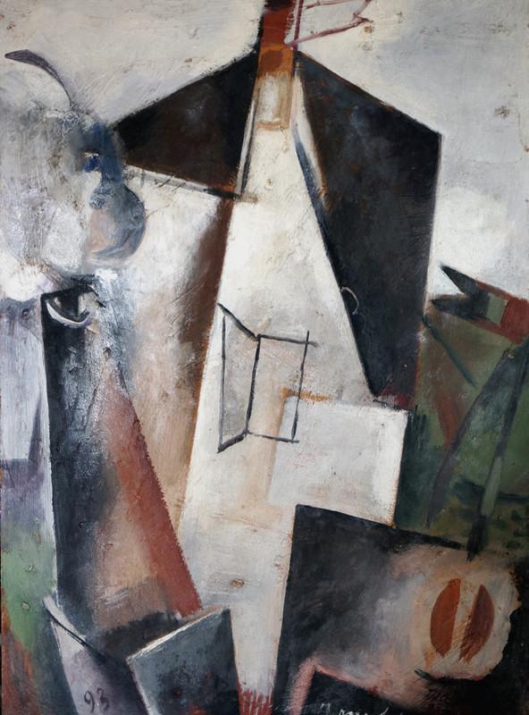 Alberto MANFREDI - Pittura - Tetti di Praga