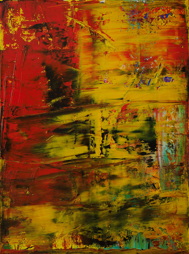 Harry James MOODY - Painting - abstract lalaland No.387