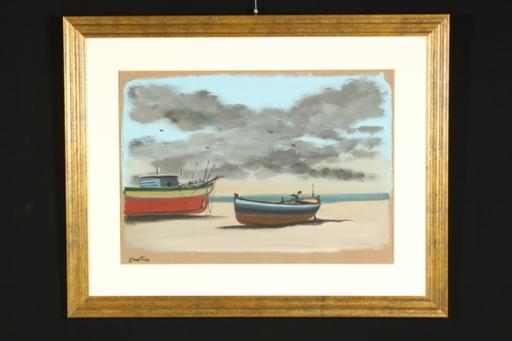 Enotrio PUGLIESE - Painting - Enotrio (1920-1989)