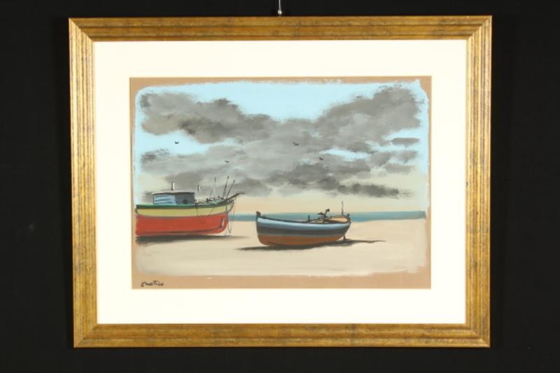 Enotrio PUGLIESE - Gemälde - Enotrio (1920-1989)