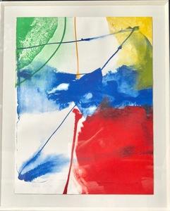 Paul JENKINS - Print-Multiple - Sheffield Blue