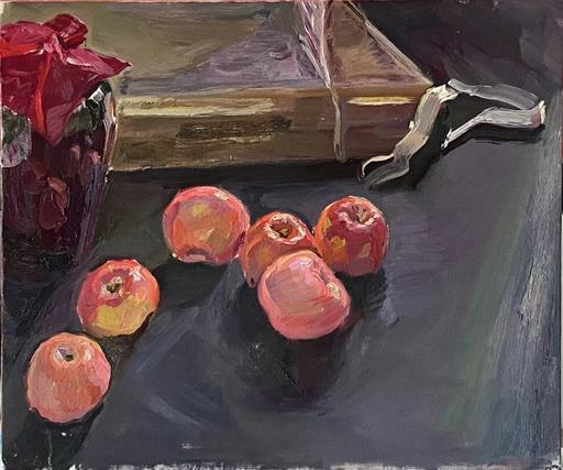 Yu SU - Painting - Red Apples