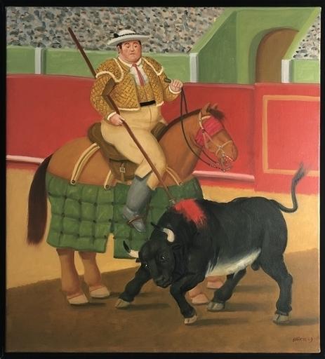 Fernando BOTERO - Painting - Picador