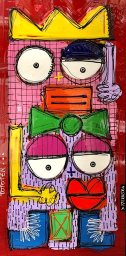 David FERREIRA - 绘画 - Totem