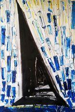 Vesna KRSMANOVIC - Pintura - Blue Splash    (Cat N° 5300)