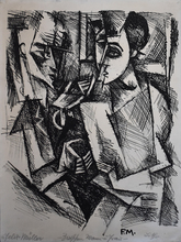 Conrad FELIXMÜLLER - Print-Multiple - Between Man and Woman | Zwischen Mann und Frau