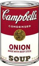 Andy WARHOL (1928-1987) - Onion Soup, from the Campbell Soup I