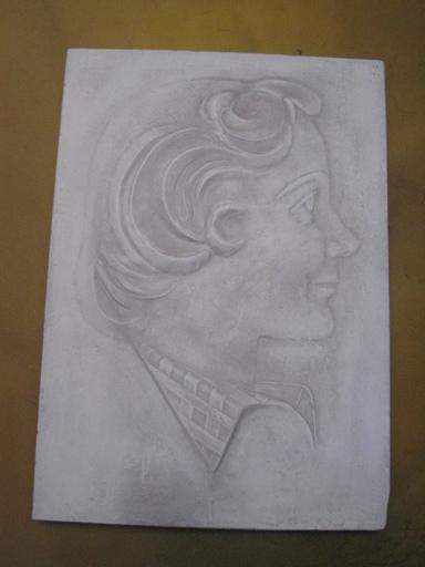 Joseph CSAKY - Sculpture-Volume - JEUNE FILLE DE PROFIL
