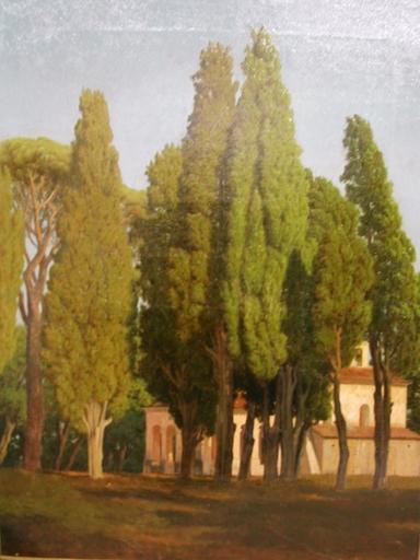 Joseph CONTINI - Peinture - Chapelle St Gassien à CANNES la Bocca