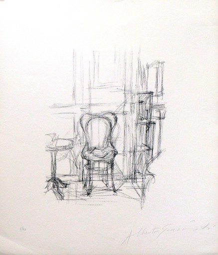 Alberto GIACOMETTI - Grabado - *Chase Et Gueridon