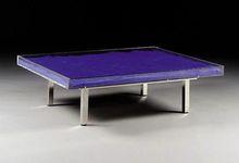 伊夫·克莱因 - 版画 - Table bleu