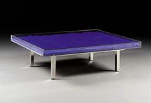 Yves KLEIN - Print-Multiple - Table bleu